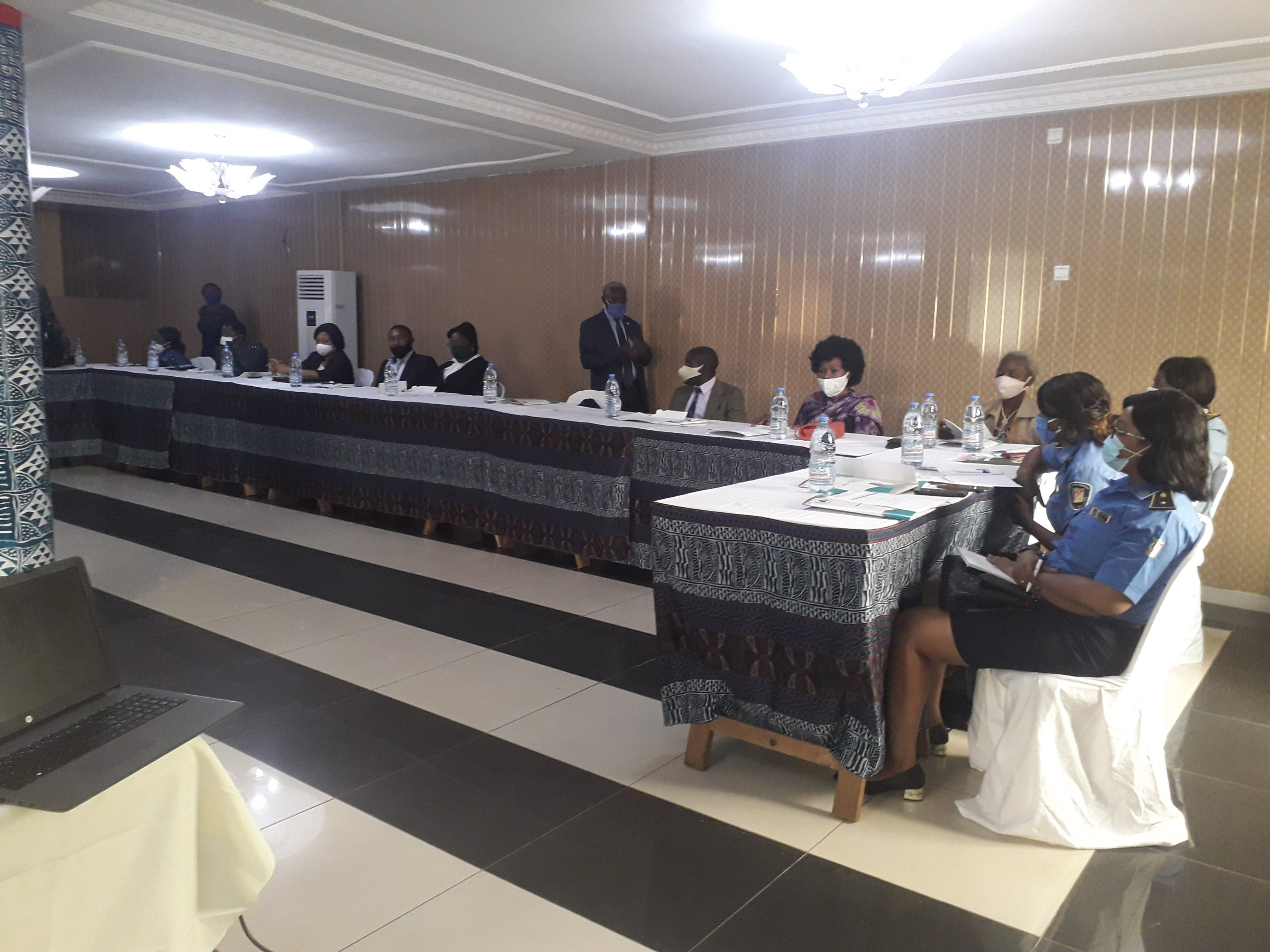A) SENSITISATION WORKSHOP WITH JUDICIAL ACTORS ABOUT THE SEXUAL AND REPRODUCTIVE HEALTH RIGHTS OF WOMEN AS STIPULATED IN THE MAPUTO PROTOCOL